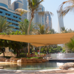 Ritz Carlton Hotel_Swimming Pool Shade