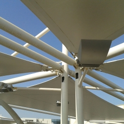 Parking Shade Steel structure Dubai UAE