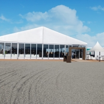 Glass Panel Tent in Oman 1