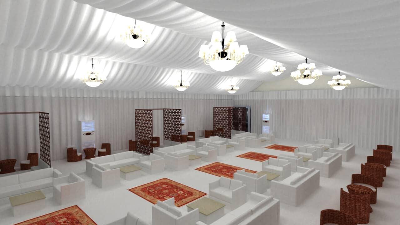 Majlis Seating 1