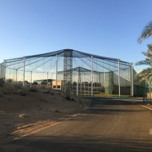 Steel Structure for Falcon Fligh Cage Dubai UAE